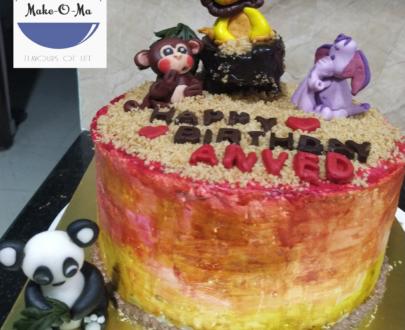 Jungle Theme Cake Designs, Images, Price Near Me