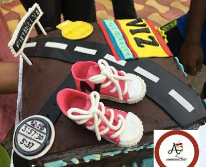 Marathon Runner Cake Designs, Images, Price Near Me