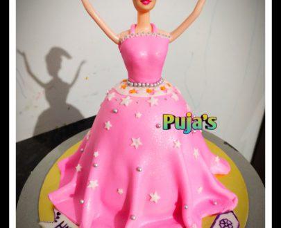 Doll Fondant Cake Designs, Images, Price Near Me