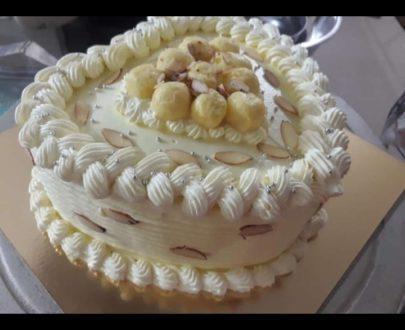 Heart Shaped Rasmalai Cake Designs, Images, Price Near Me