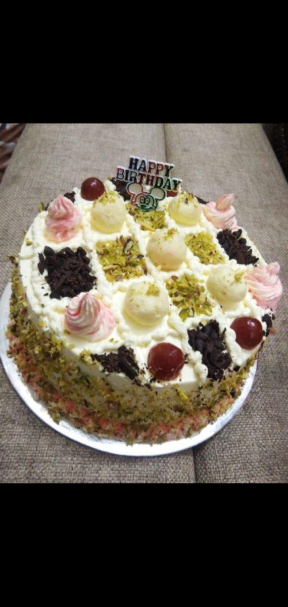 Pista Rasmalai Cake Designs, Images, Price Near Me