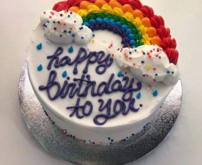 Rainbow 🌈 Cake Designs, Images, Price Near Me