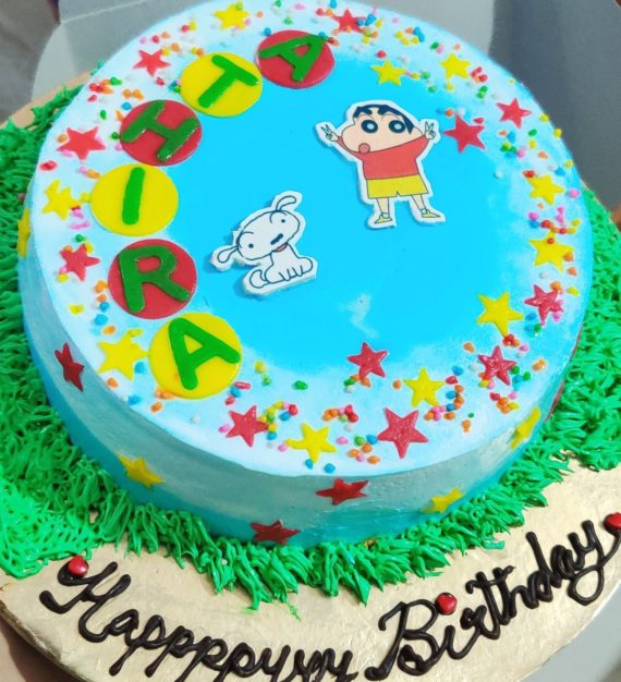 Shinchan Theme Cake Designs, Images, Price Near Me