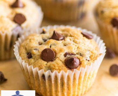 Box of 6 Vanilla Chocolate Chips Muffins Designs, Images, Price Near Me