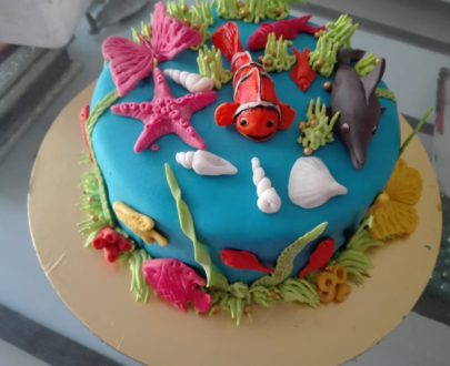 Aqua Theme Cake Designs, Images, Price Near Me
