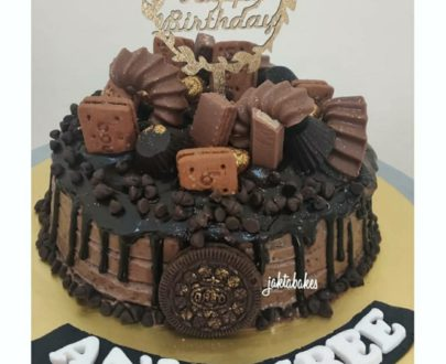 Chocolate Overloaded Cake Designs, Images, Price Near Me
