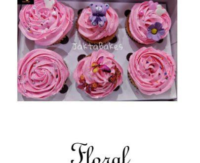 Vanilla Cupcake (6 Pcs) Designs, Images, Price Near Me