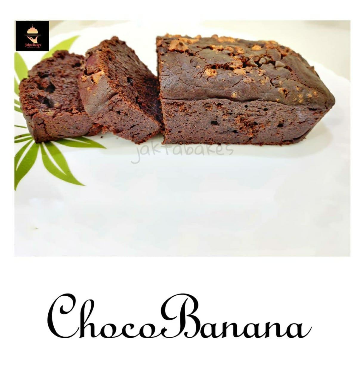 Choco Banana Cake Designs, Images, Price Near Me