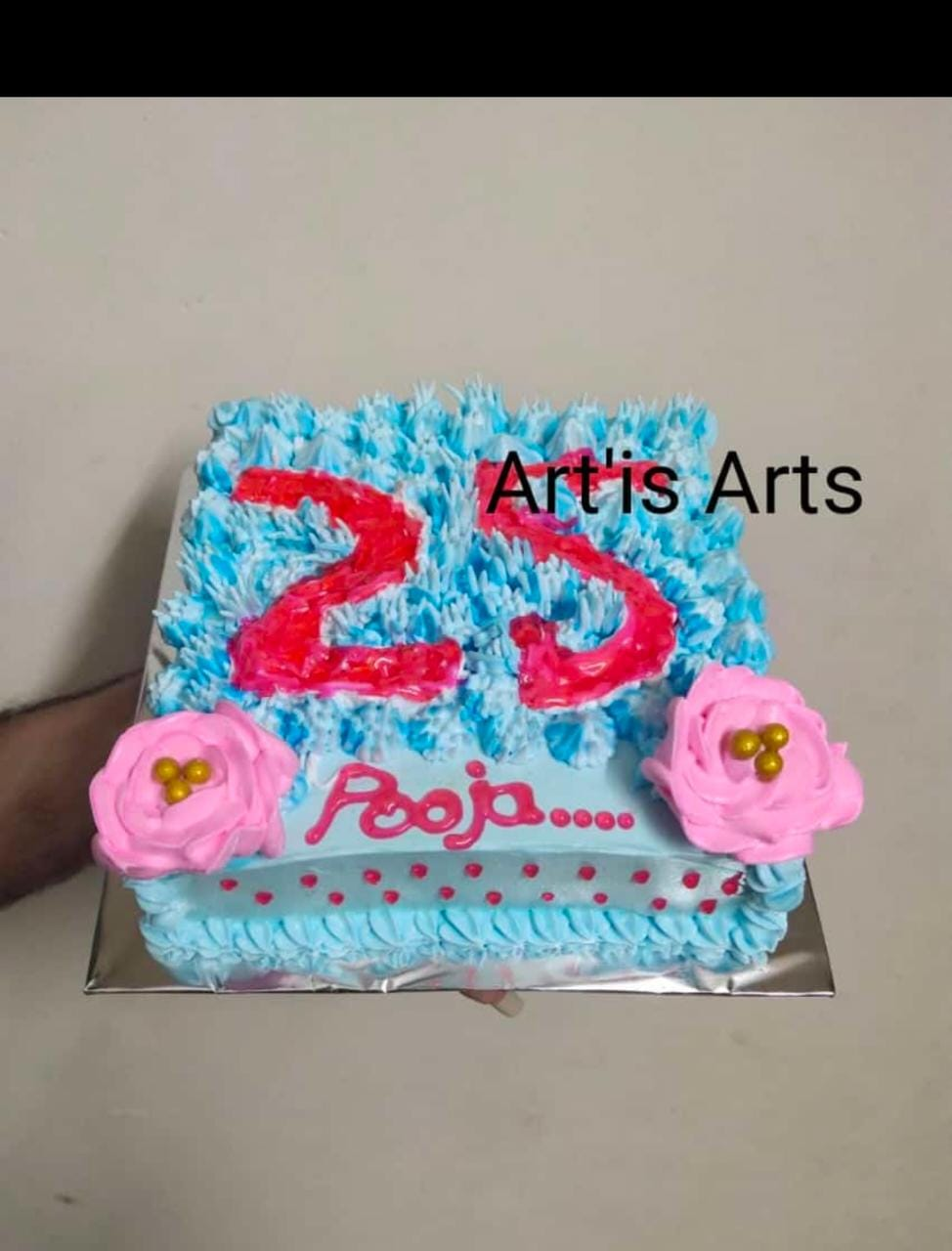 Blue Raco Cake Designs, Images, Price Near Me