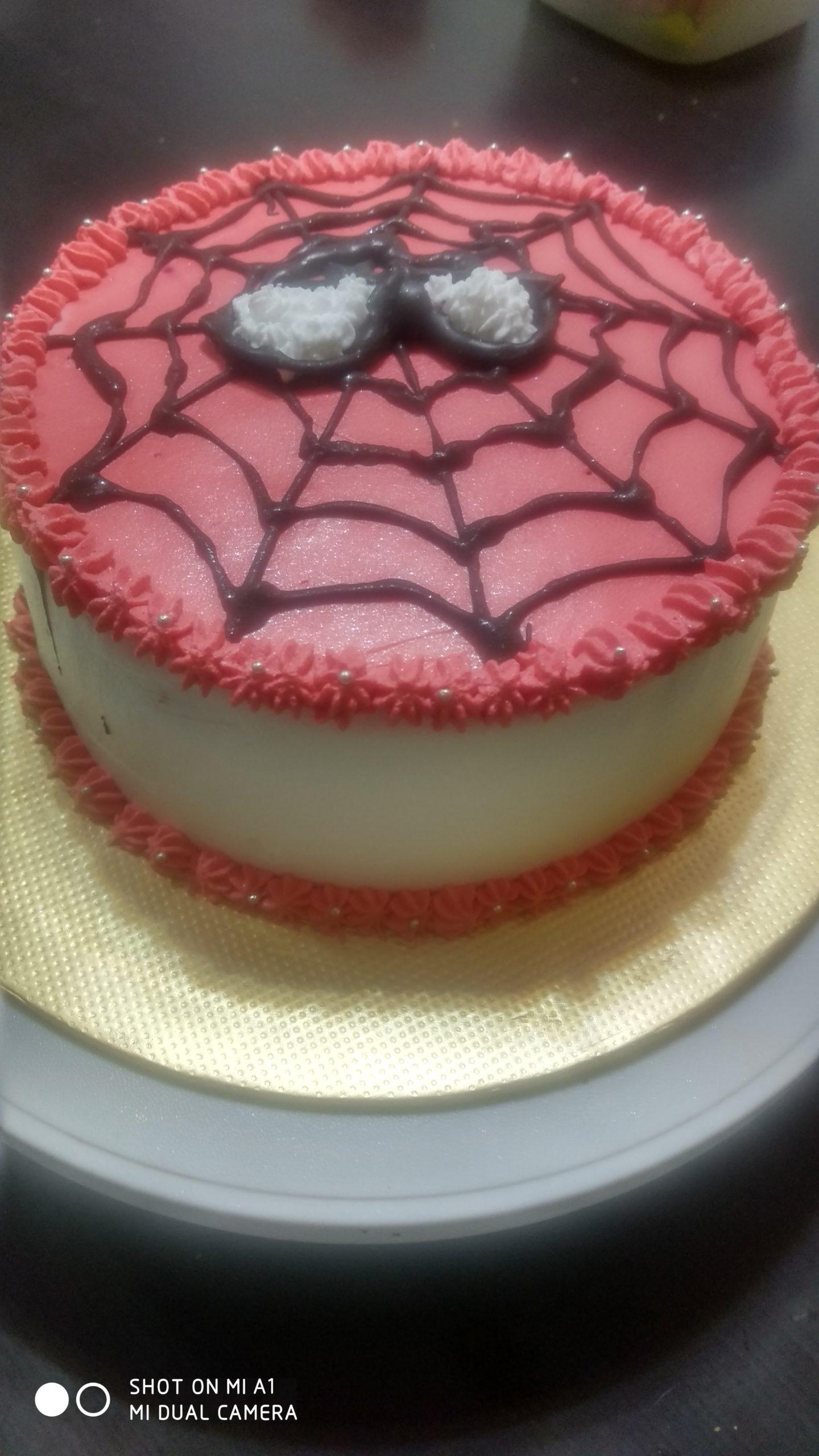 Spiderman Theme Cake Designs, Images, Price Near Me