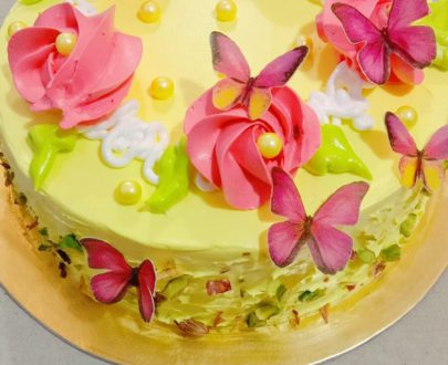 Butterfly Effect Cake Designs, Images, Price Near Me