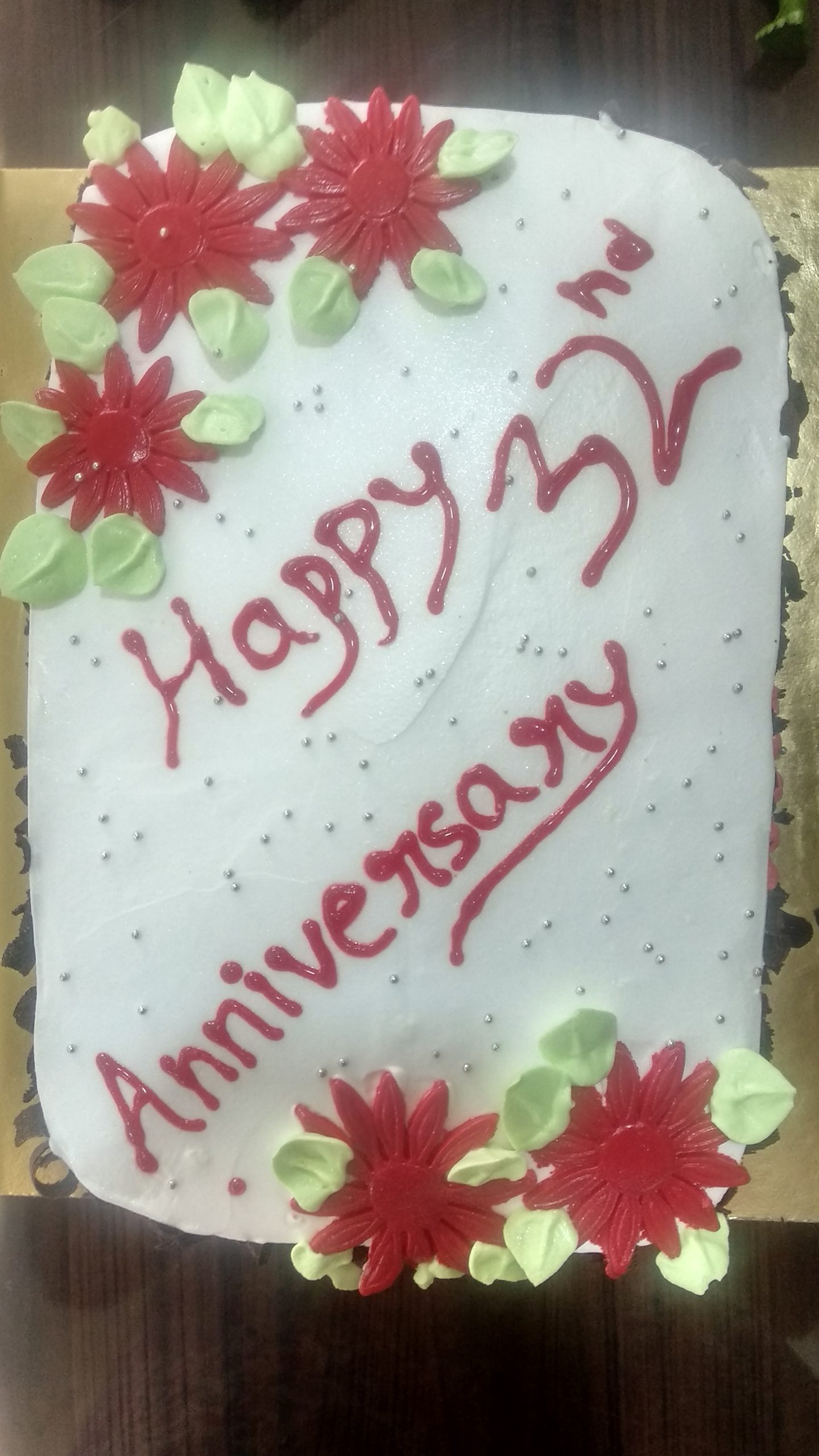 Anniversary Cake(chocolate and pineapple) Designs, Images, Price Near Me