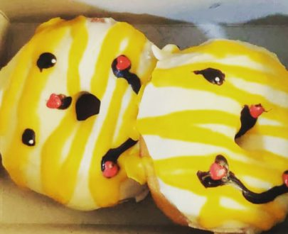 Pineapple Doughnuts(set of 2) Designs, Images, Price Near Me