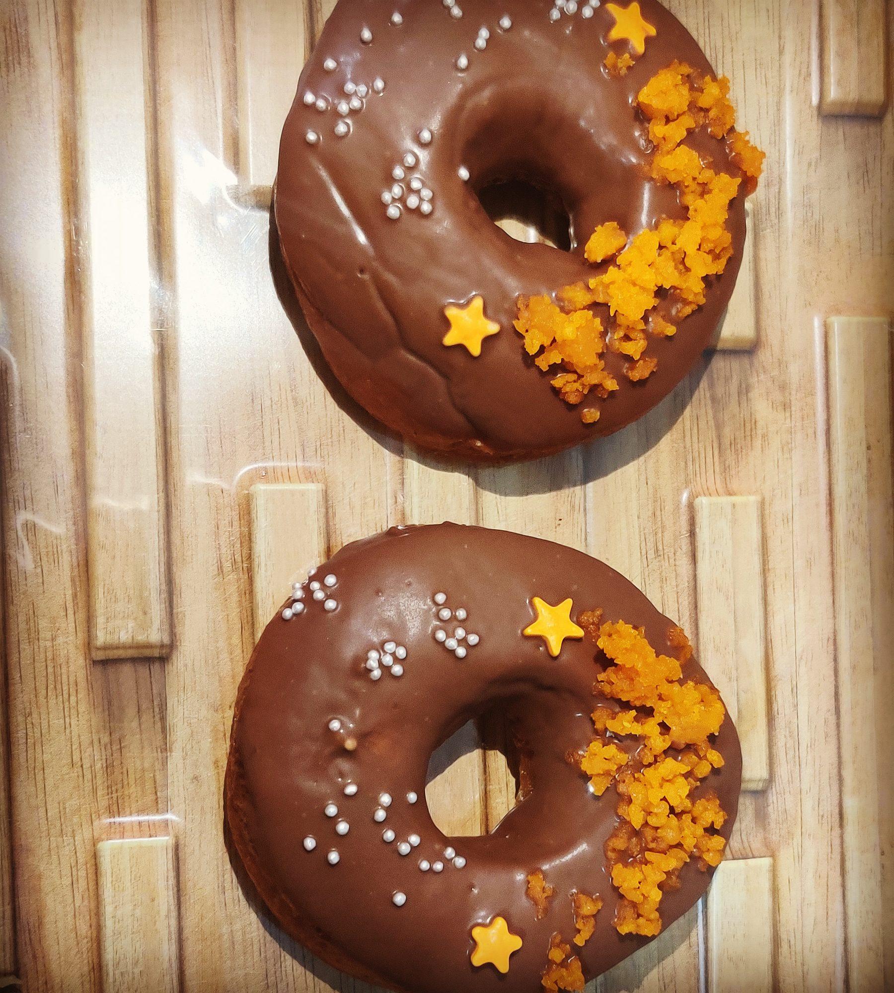 Motichoor Doughnuts (pack of 2) Designs, Images, Price Near Me