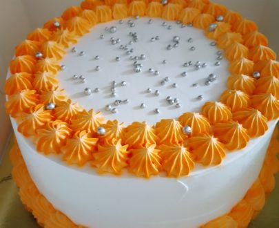 Orange Cake Designs, Images, Price Near Me