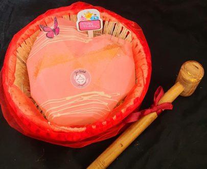 Pinata Smash Cake (Heart shaped) Designs, Images, Price Near Me