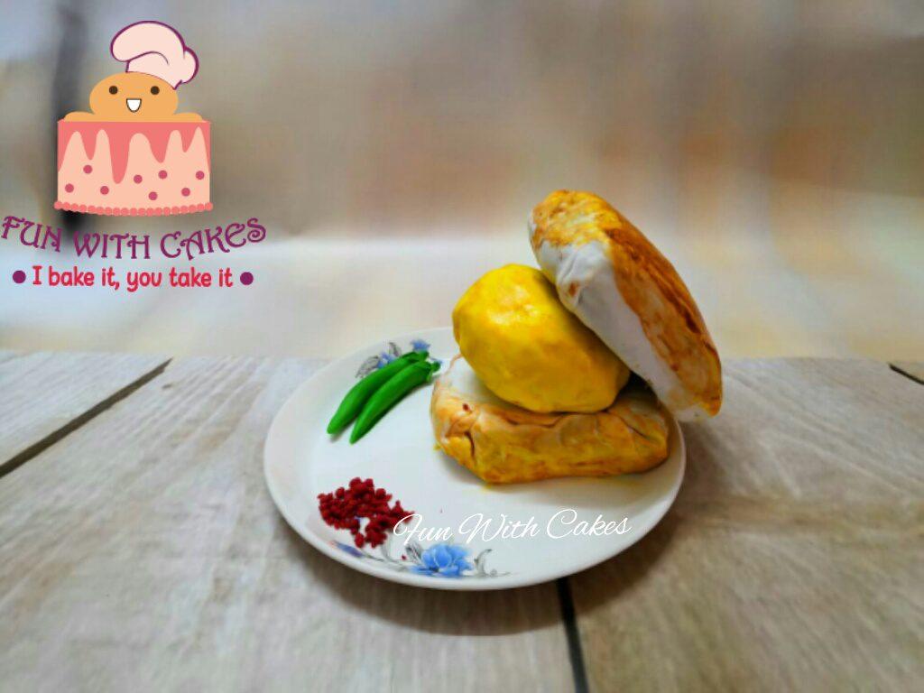 Vada Pav Cake Designs, Images, Price Near Me