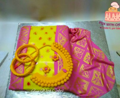 Paithani Themed Cake Designs, Images, Price Near Me