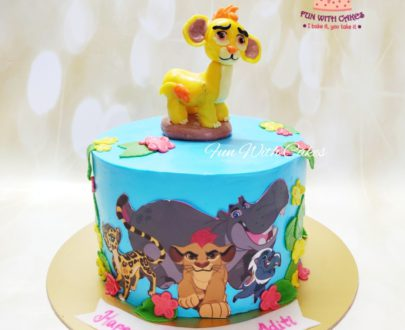 The Lion Guard Themed Cake Designs, Images, Price Near Me