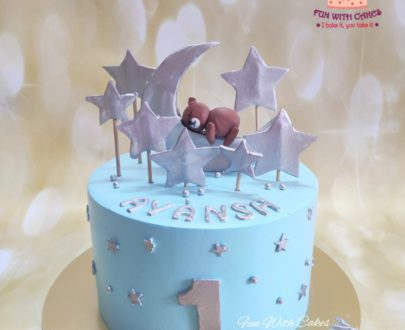 Stars and Moon Themed Cake Designs, Images, Price Near Me