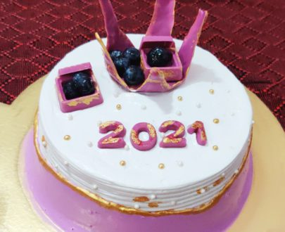 New Year Cake – Rich Blueberry Designs, Images, Price Near Me