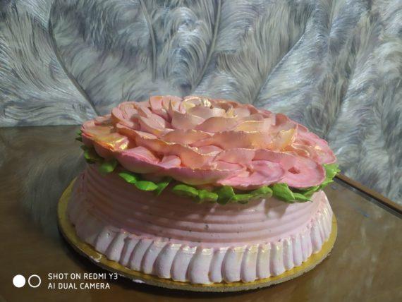 Rose BlackForest Cake Designs, Images, Price Near Me