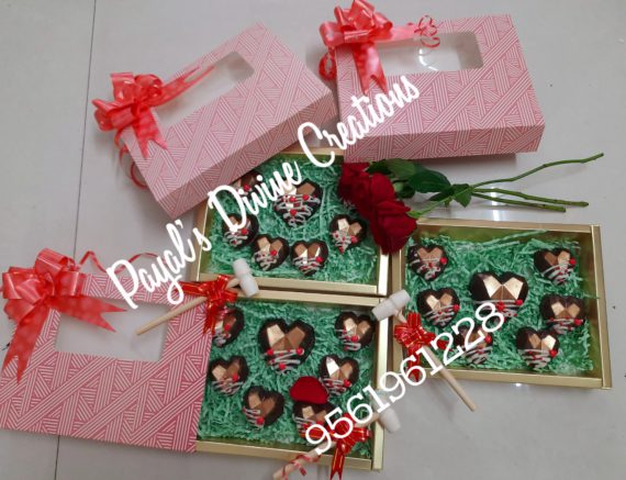 Dryfruit Pinata Chocolates with Mini Hammer Designs, Images, Price Near Me