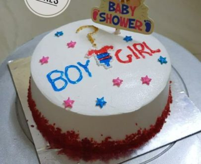 Baby Shower Cake without fondant Designs, Images, Price Near Me