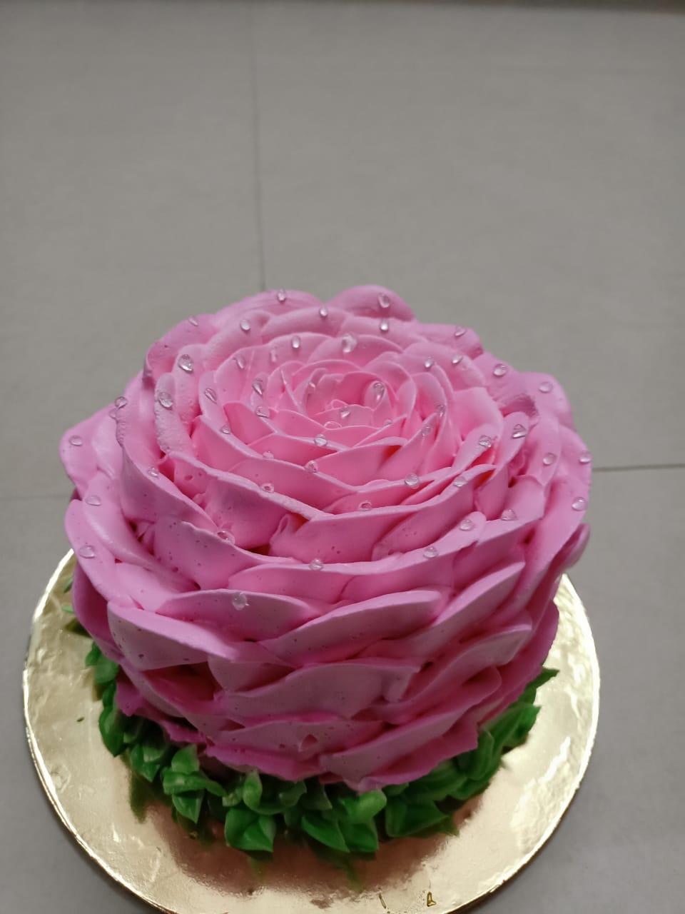 Rose Theme Cake Designs, Images, Price Near Me