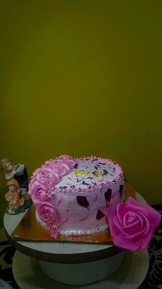 Rose Petal Cake or gulkand cake Designs, Images, Price Near Me