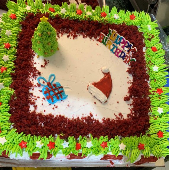Red Velvet Cream Cheese Cake Designs, Images, Price Near Me