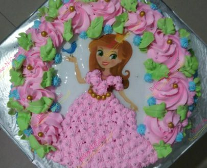 Barbie Doll 3D photo cake Designs, Images, Price Near Me