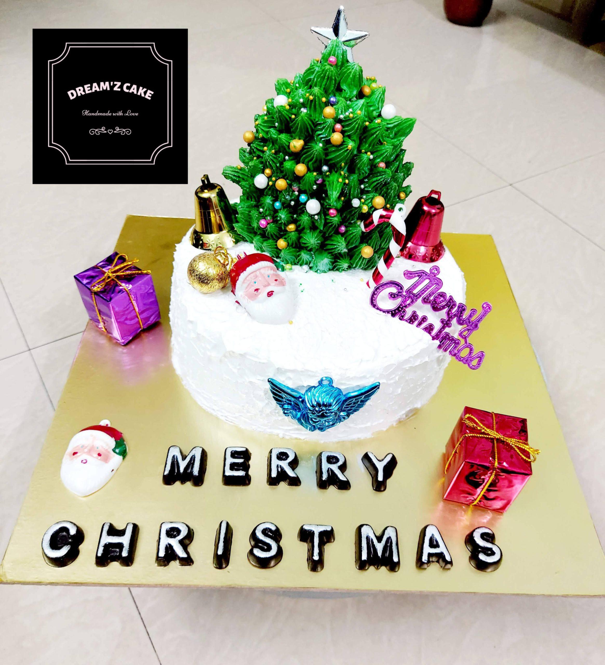 X-Mas Theme Cake Designs, Images, Price Near Me