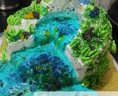Pull Me Up Waterfall Cake Designs, Images, Price Near Me
