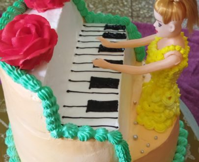 Doll Piano Cake Designs, Images, Price Near Me