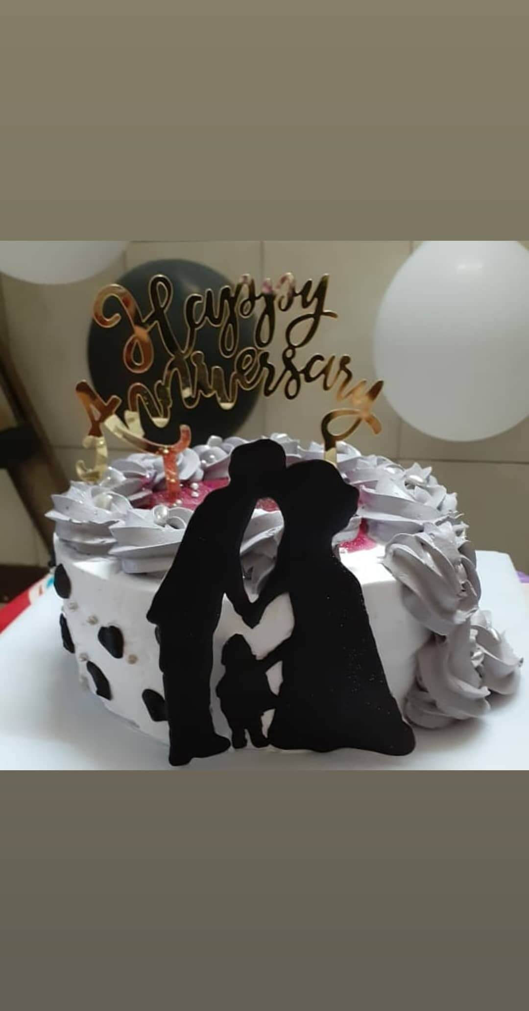 Anniversary Cake (Blueberry Cream Cheese) Designs, Images, Price Near Me