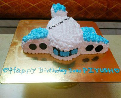 Aeroplane Theme Cake Designs, Images, Price Near Me