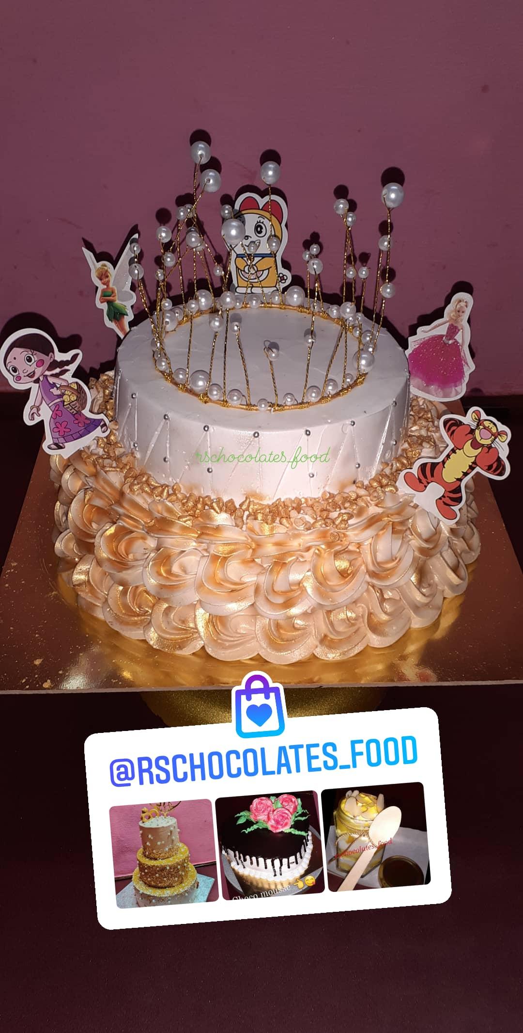 Two Tier Birthday Cake Designs, Images, Price Near Me