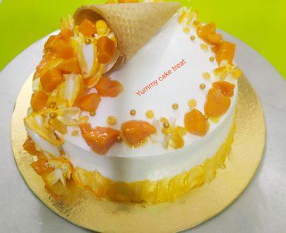 Real Mango Cake Designs, Images, Price Near Me