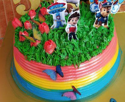 Paw Petrol Theme Cake Designs, Images, Price Near Me
