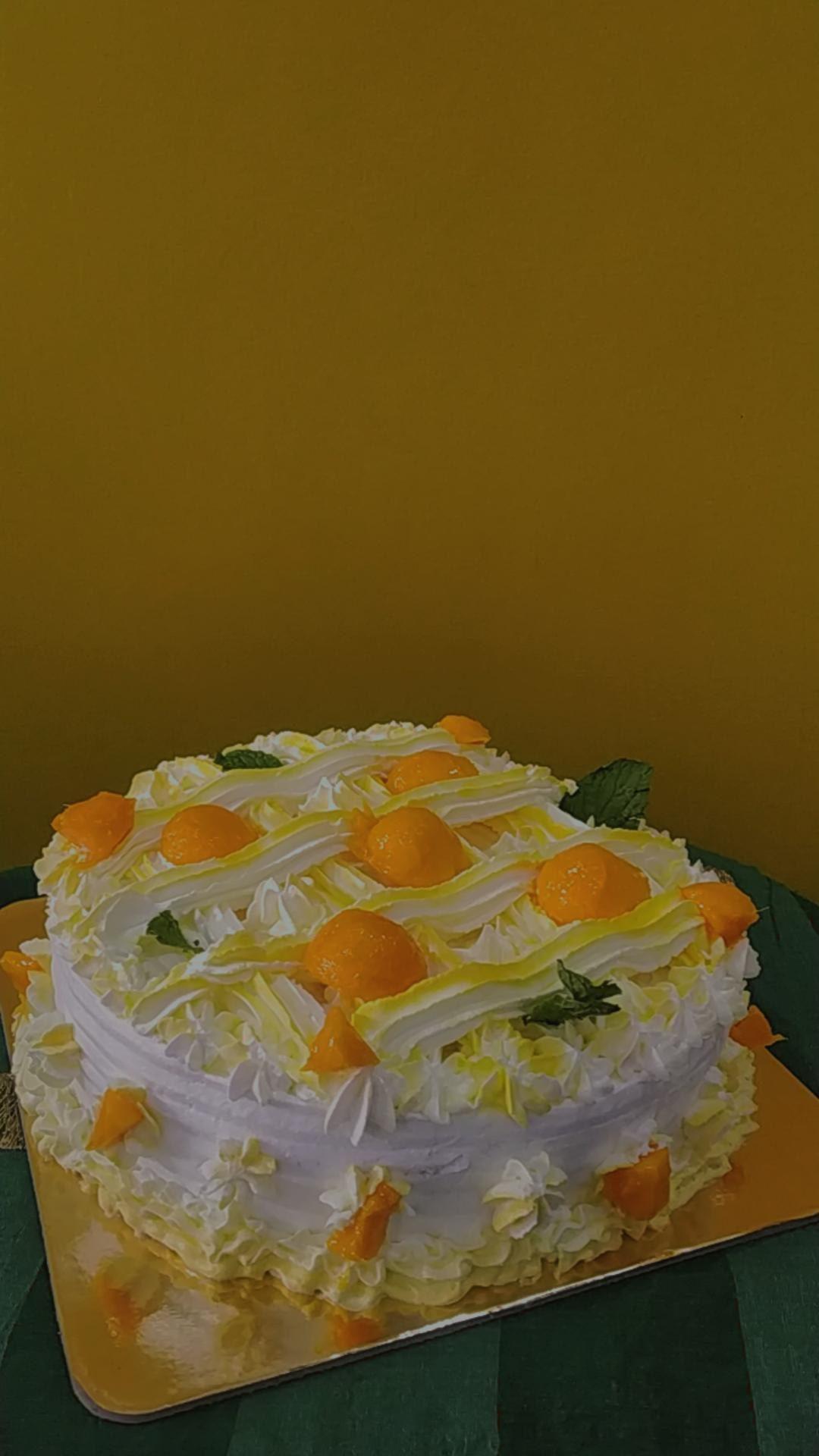Mango Cake Designs, Images, Price Near Me