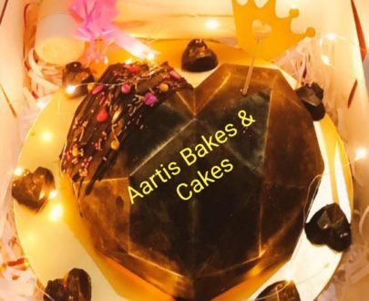 Surprise Heart Pinata Cake Designs, Images, Price Near Me