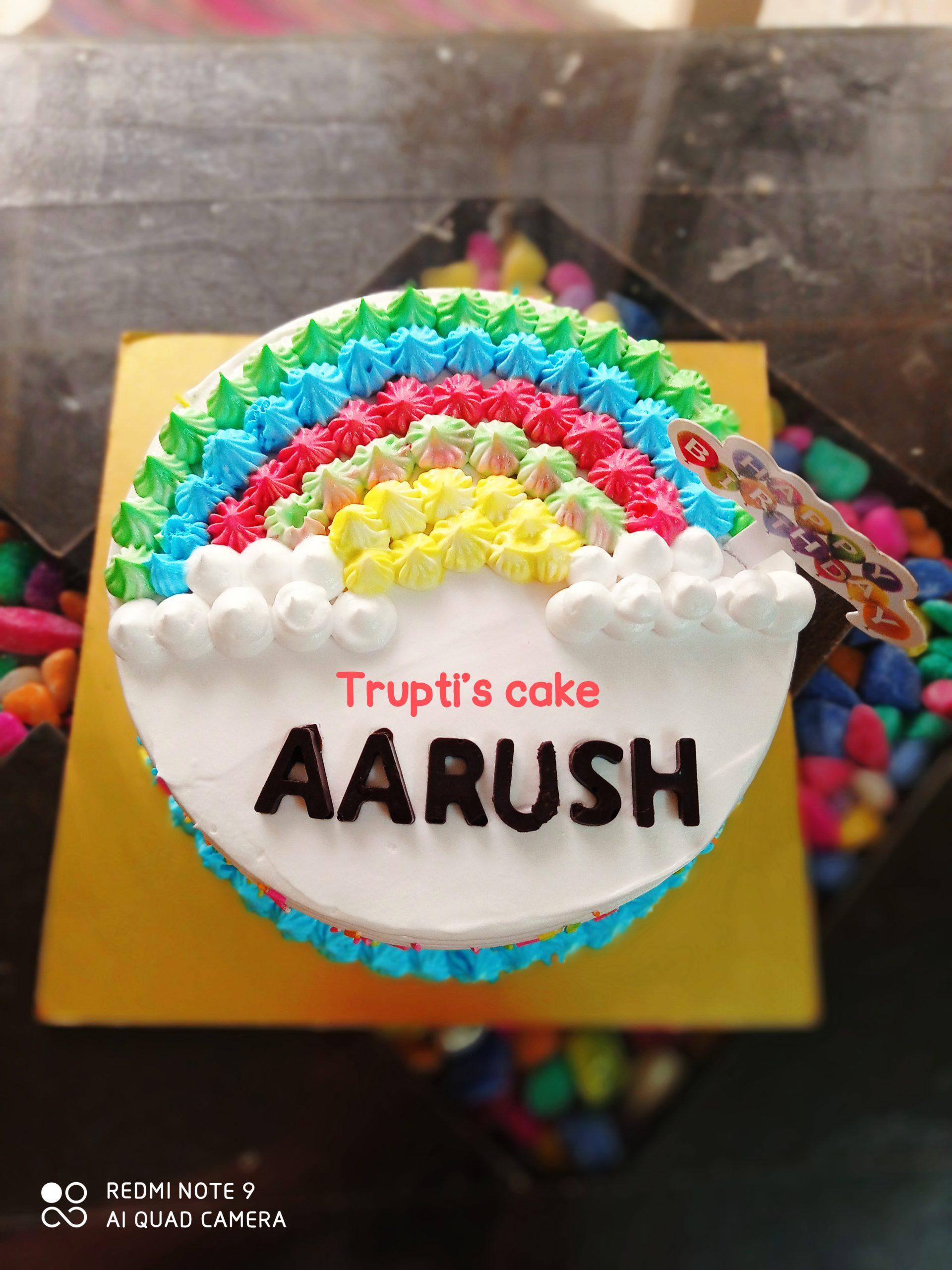 Rainbows Theme Cake Designs, Images, Price Near Me