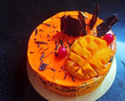 Mango and Chocolate Cake Designs, Images, Price Near Me