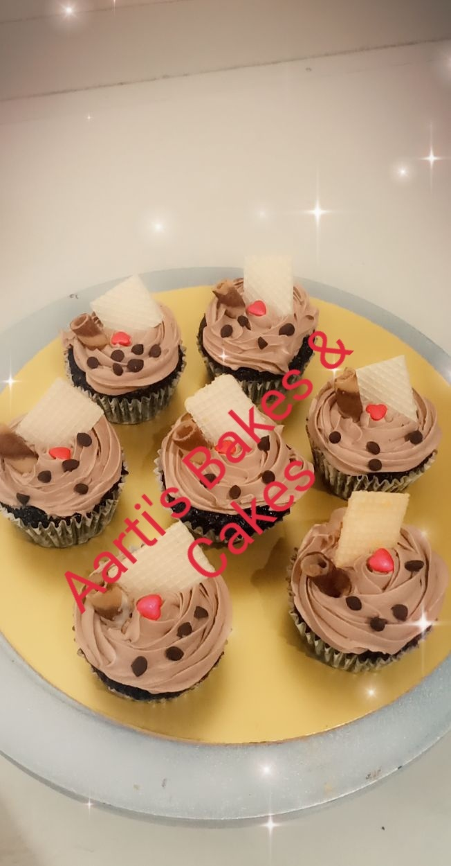 Chocolate Cupcakes(Pack of 6) Designs, Images, Price Near Me