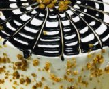 Roasted Almond Chocolate Cake Designs, Images, Price Near Me