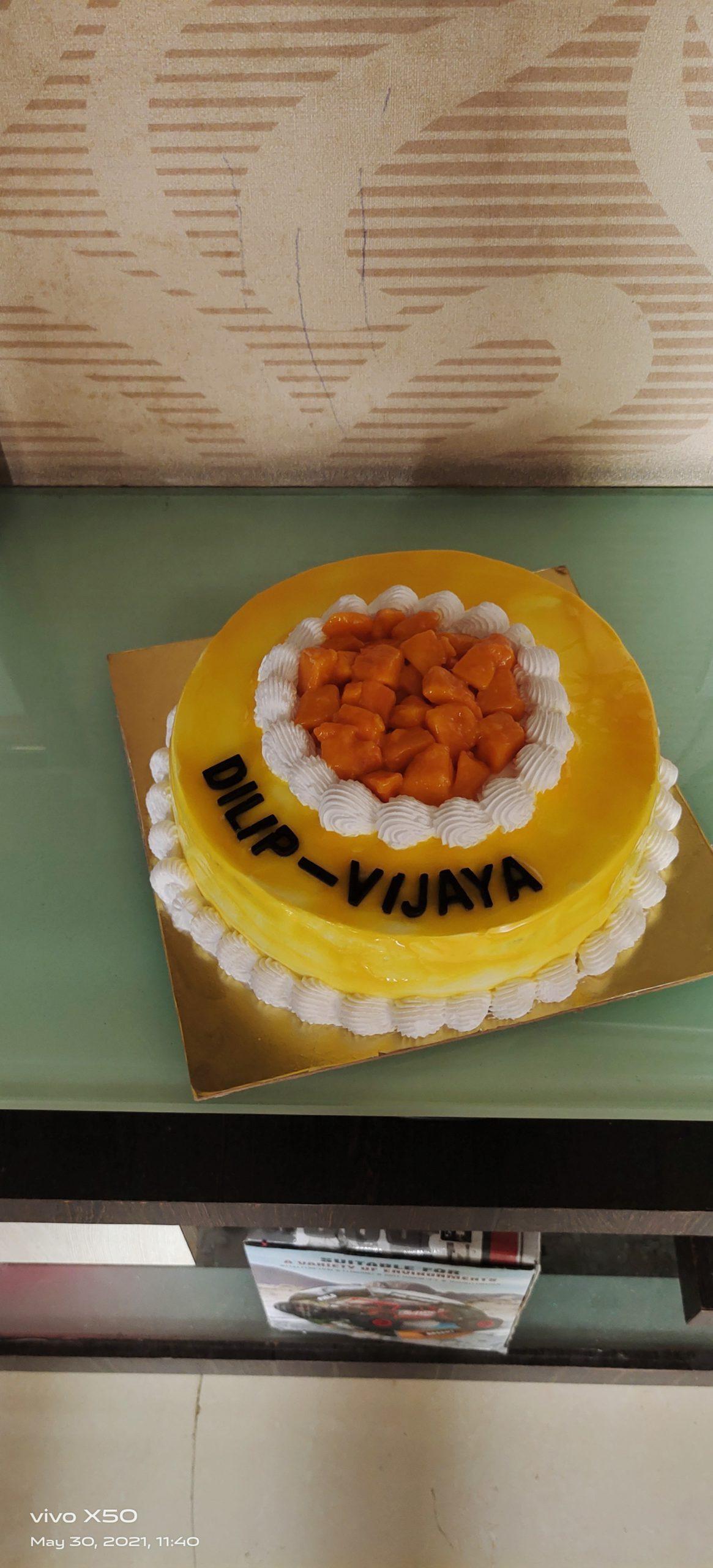 Alphanso Mango Cake Designs, Images, Price Near Me