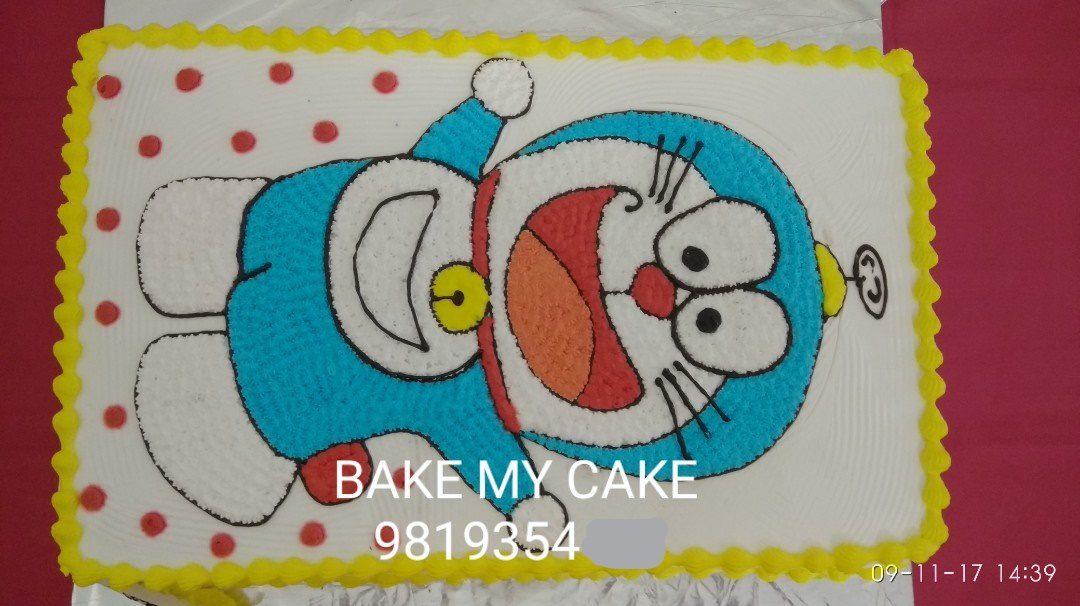 Doraemon Cartoon Cake Designs, Images, Price Near Me
