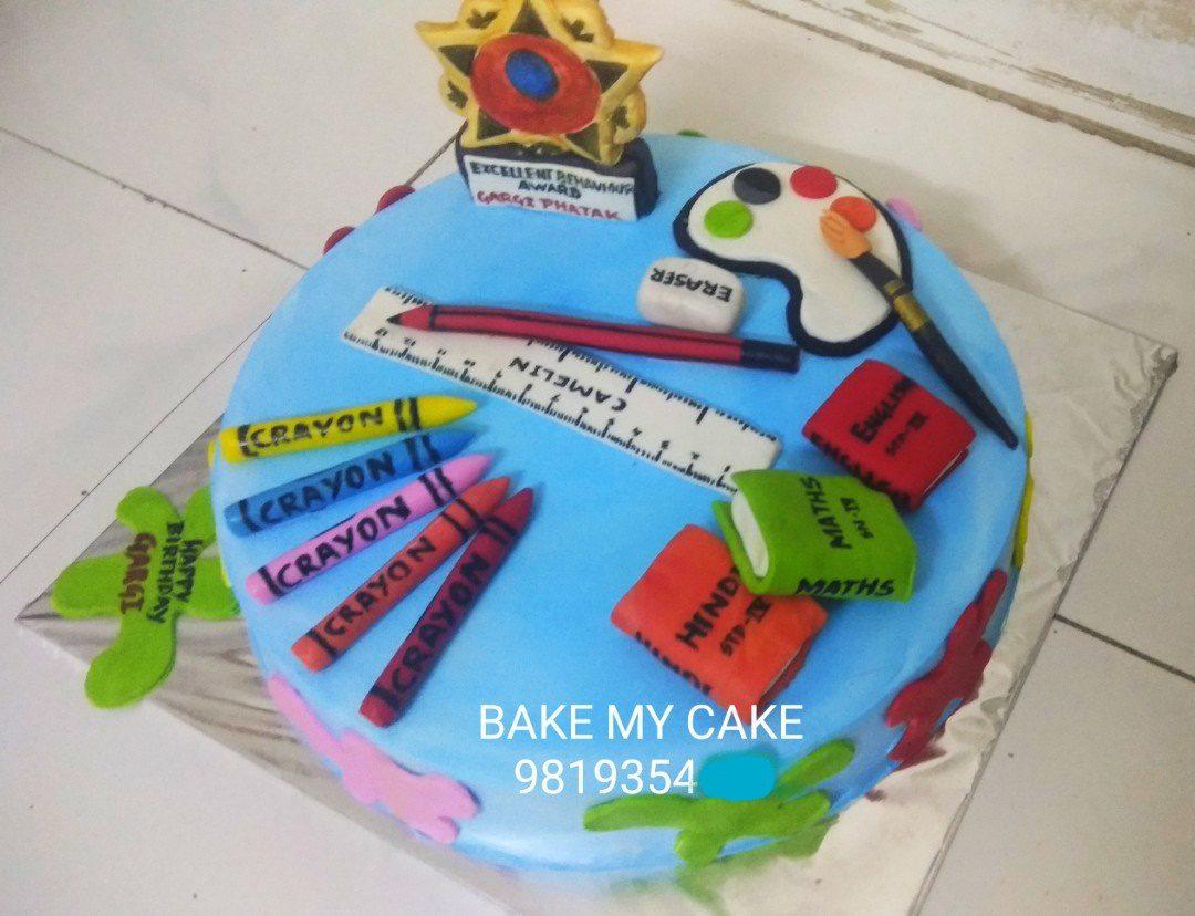 Artist Theme Cake Designs, Images, Price Near Me