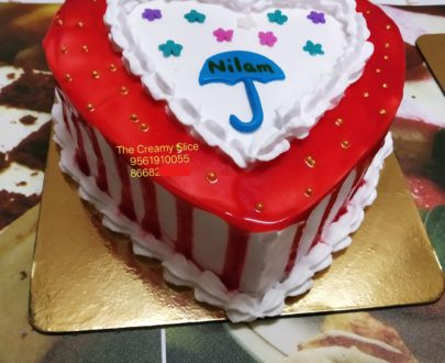 Gulkand Flavour Cake Designs, Images, Price Near Me